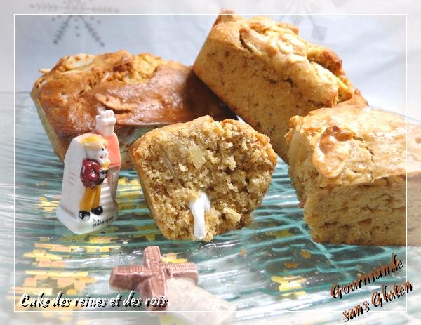 Cake des reines et des rois sans gluten sans lactose