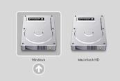 Instal Windows di Mac menggunakan Boot Camp Assistant