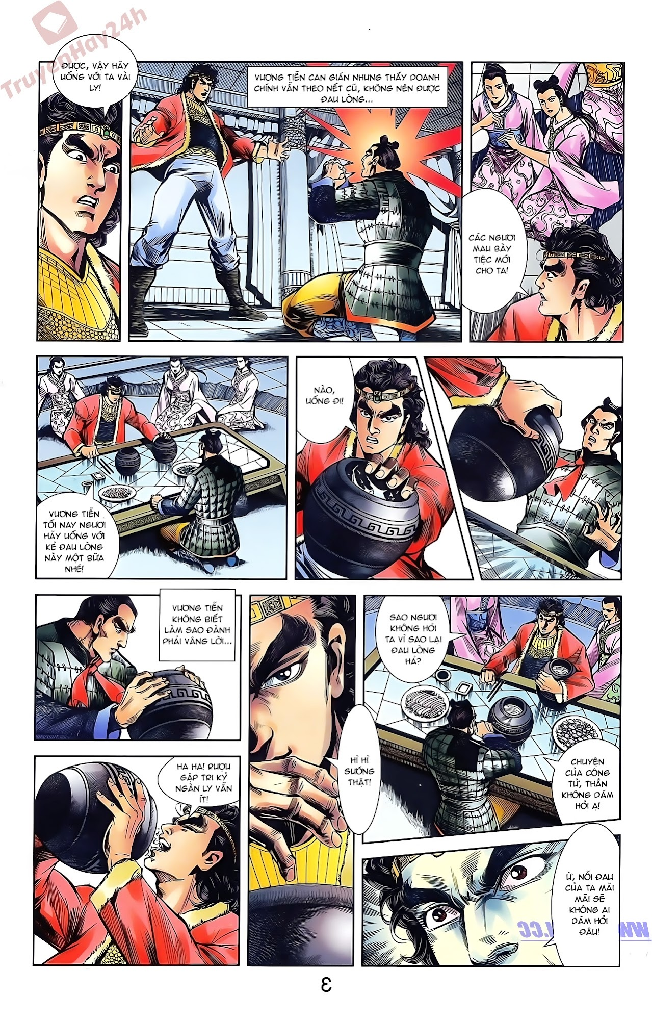Tần Vương Doanh Chính chapter 42 trang 15