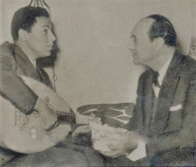 مصطفى محمود برفقة محمد عبد الوهاب