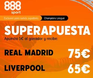 888sport superapuesta Real Madrid vs Liverpool 6-4-2021