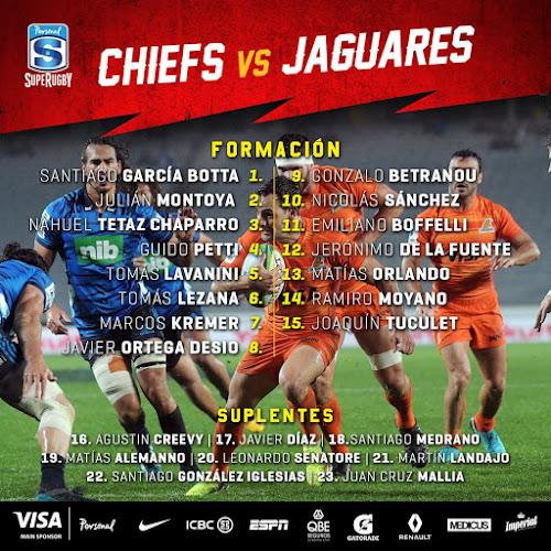 Jaguares confirmados para enfrentar a Chiefs