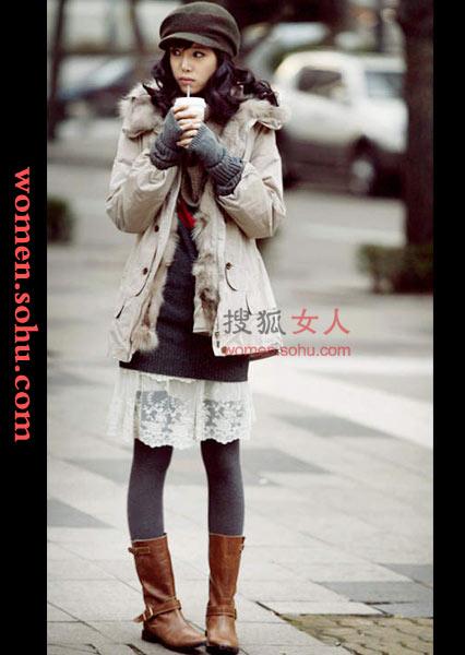 korean style fashion fashion korean clothing winter. Black Bedroom Furniture Sets. Home Design Ideas