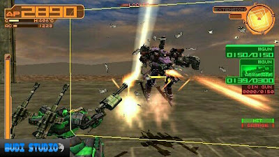 Armored Core Silent Line Portable PPSSPP Android
