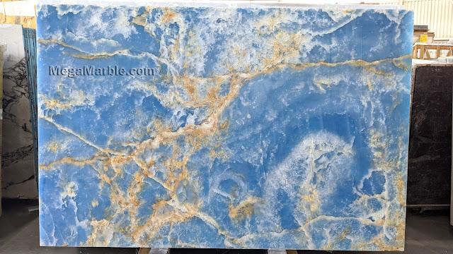 Blue Marble Onyx Polished A