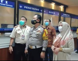 Genjot Pelayanan Prima, Dirlantas Polda Sulsel Kunjungi Samsat Makassar I  Mappanyukki