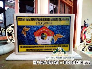Plakat Vandel Wisuda Bahan Marmer