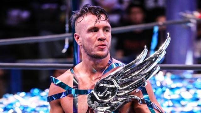 Will Ospreay confirma que se lesionou no NJPW Wrestle Kingdom 14