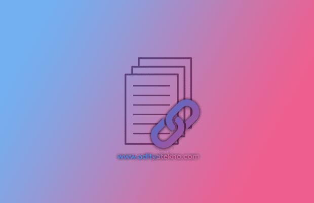 Cara Menampilkan Link Sumber Artikel Secara Otomatis di Blogger