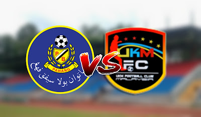 Live Streaming Pahang vs UKM FC Friendly Match 13.2.2020
