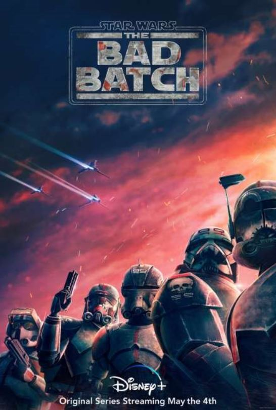 Disney+ divulga trailer de Star Wars: The Bad Batch