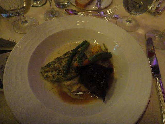 Disneyland Wedding - Braised Short Ribs and Chicken with Cilantro Pesto Sauce