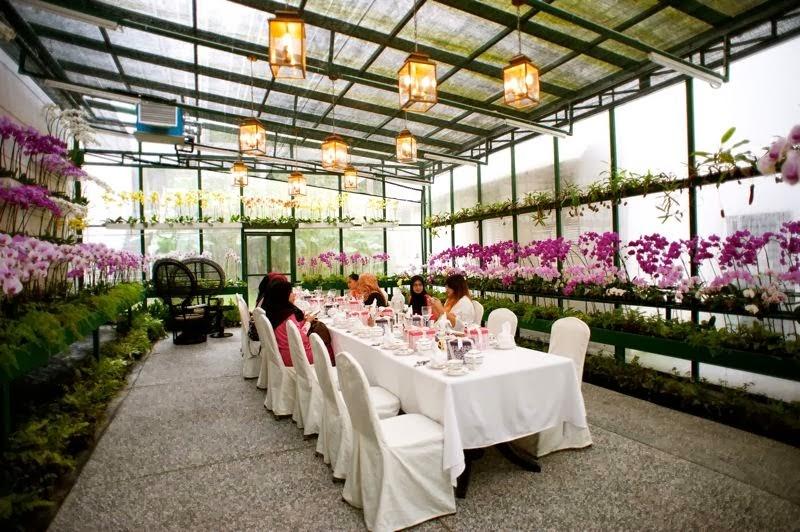 fresh flower wedding kl