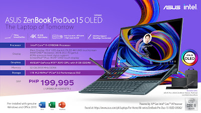 ASUS ZenBook Pro Duo 15 OLED price