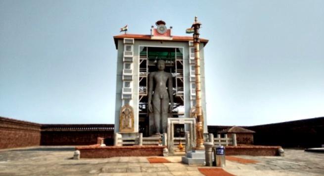 Bahubali Gommateshwara monolith in Karkala, Udupi district, Karnataka