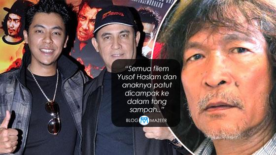"""Semua Filem Yusof Haslam Dan Anaknya Patut Dicampak Ke Dalam Tong Sampah.."" - Mansor Bin Puteh"