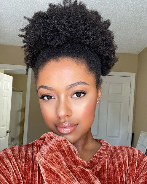 2020 adorable natural hairstyles