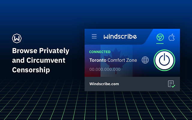 Windscribe for browser's
