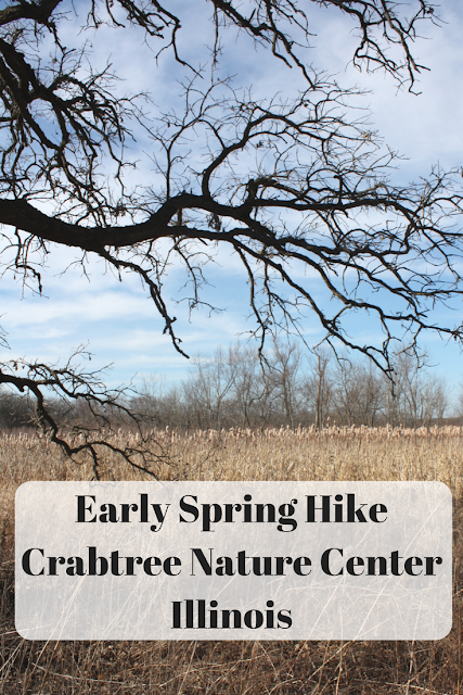 Early Spring Hike Crabtree Nature Center Illinois