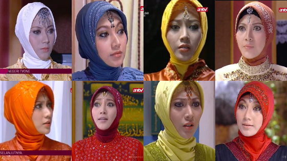 Vista Putri Ummi Najwa Sinetron Inayah