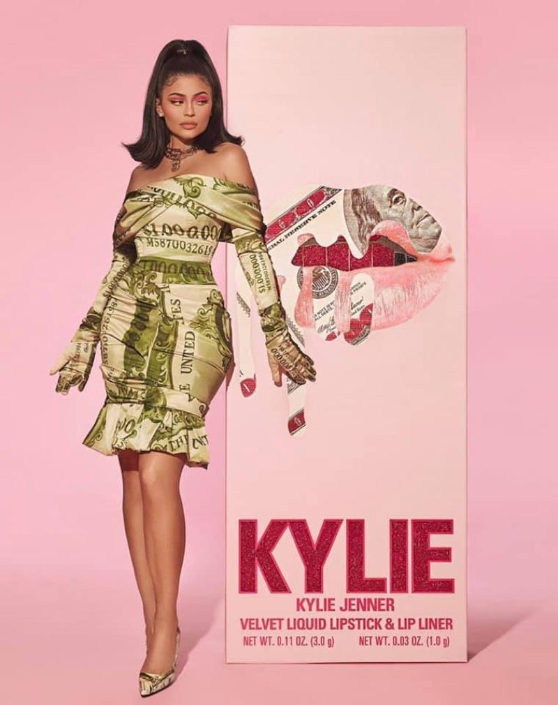 Kylie Cosmetics spotlights Velvet Liquid Lipstick & Lip Liner