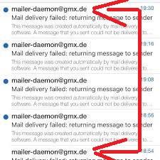 pengertian dan penjelasan tentang mailer daemon failure
