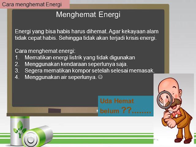 10 Cara Menghemat Energi dalam Rumah