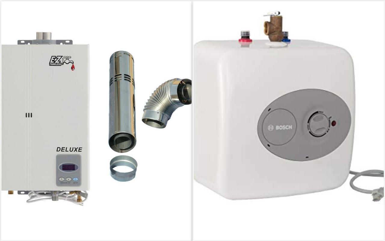 Pemanas Air Gas Vs Listrik Instalasi pemanas air gas