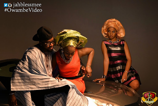 1 Behind The Scene Pictures:  Jahbless   Owambe (Dir. By Clarence Peters)