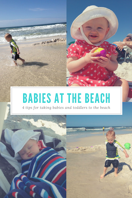 Tips and tricks for taking babies and toddlers to the beach