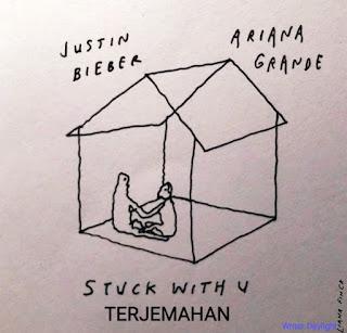 Arti Lagu Stuck with U Justin Bieber dan Ariana Grande