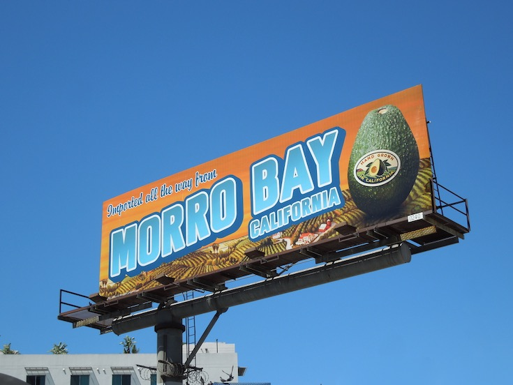 Morro Boy California Avocados billboard