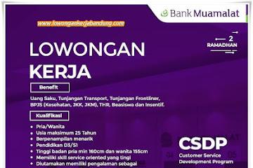 Lowongan Kerja Bank Muamalat Bandung