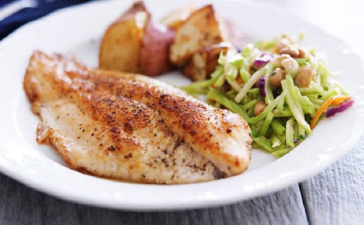 lemon tilapia fillets
