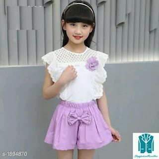 Stylish Kid's Girl's Clothing Set