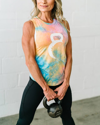 Tie-dye muscle tank, zyia new release wednesday, zyia new release day, zyia active release new products, zyia new release day