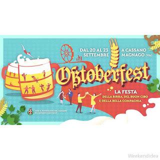 Oktoberfest dal 20 al 23 settembre Cassano Magnago (VA)