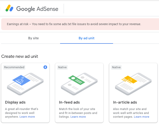 How To Create Link Ads In Adsense - Website Main Link Ads Kaise Banaye ?