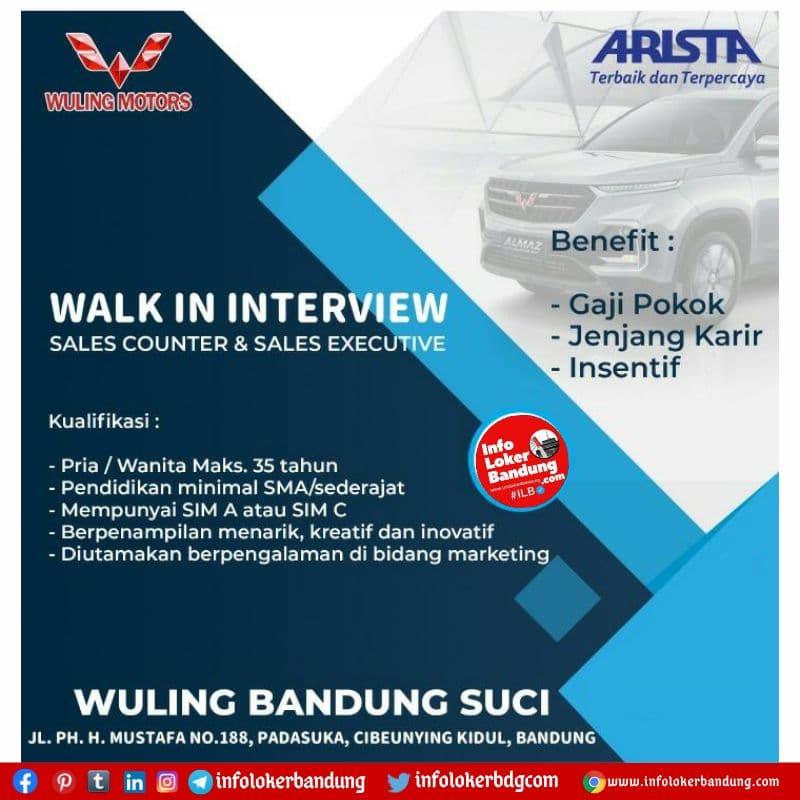 Walk In Interview Wuling Bandung Suci Bandung Agustus 2021