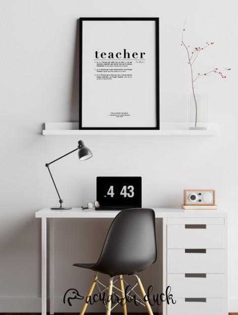 lámina para maestros