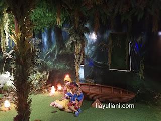 Masuk ke Rumah Pohon Lembang Wonderland