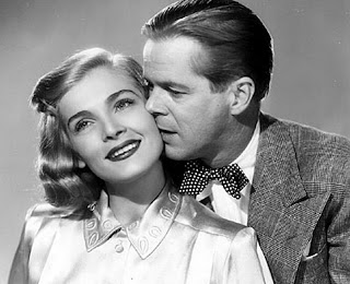 Lizabeth Scott Dan Duryea in Too Late For Tears 1949