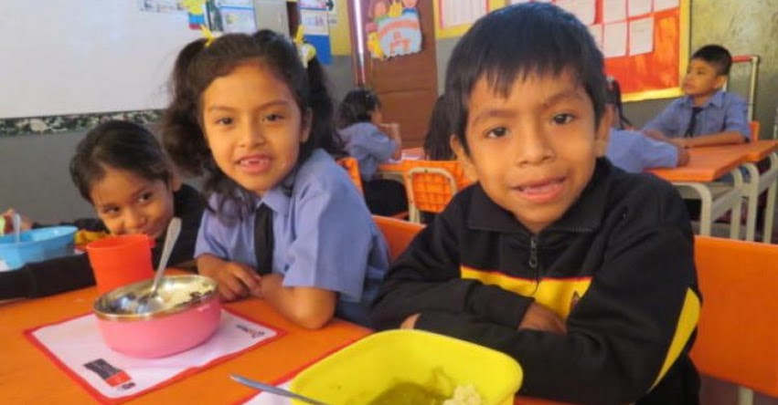 QALI WARMA: Escolares de zonas alto andinas de Ica refuerzan su aprendizaje con alimentación saludable - www.qaliwarma.gob.pe