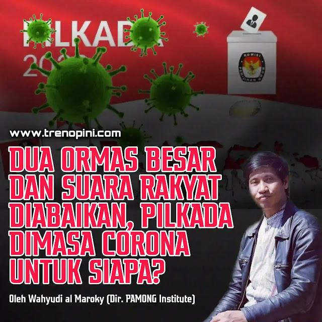 Nu Muhammadiyah Tolak pilkada 2020