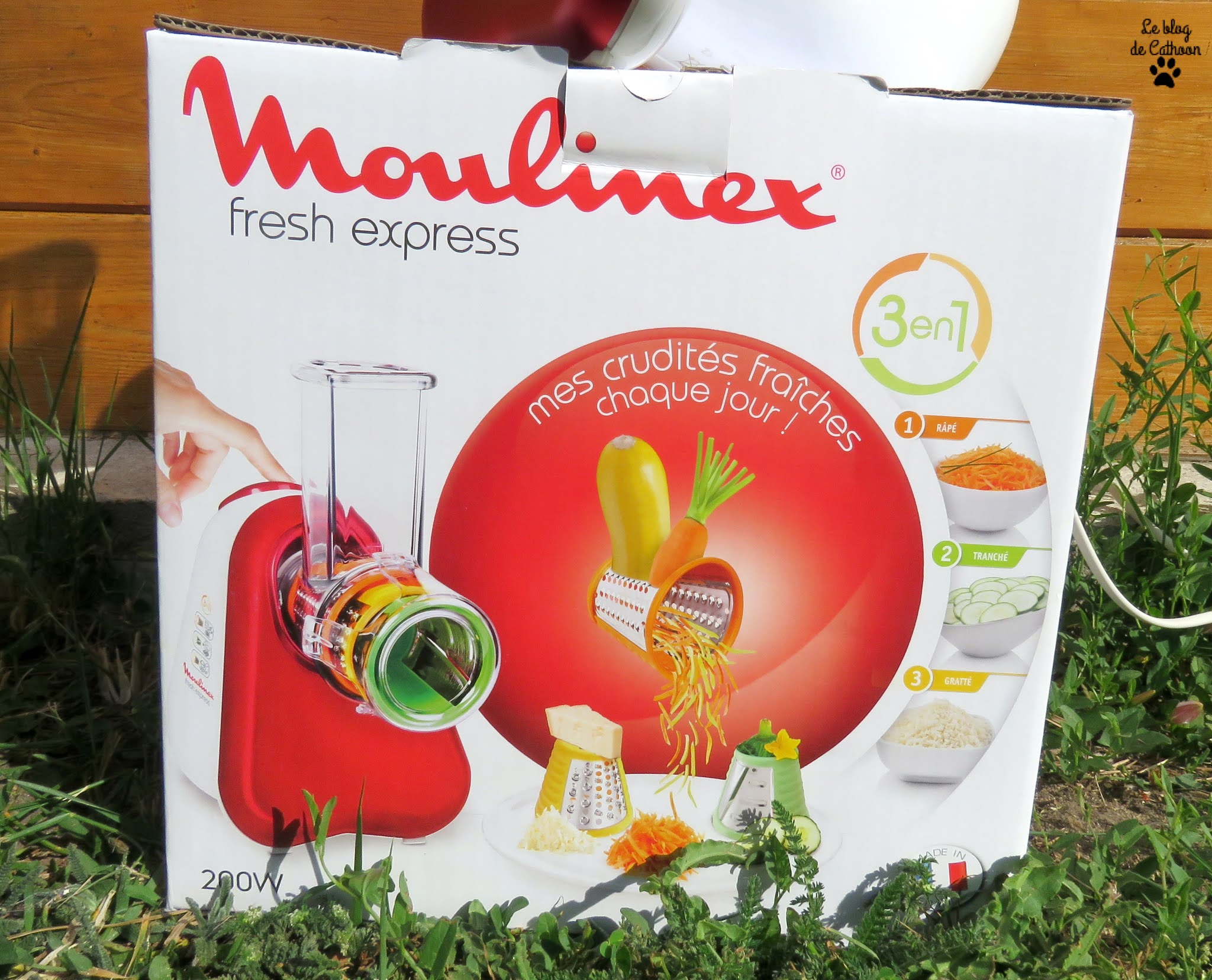 Moulinex Fresh Express 3 en 1