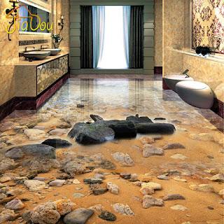 kontraktor dekorasi lantai 3 dimensi