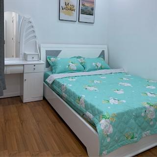 phòng ngủ chung cư sky garden 3 phú mỹ hưng