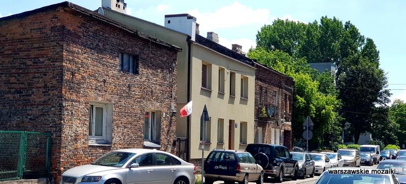 Targówek Warszawa Warsaw kamienica architektura ulica Ogińskiego