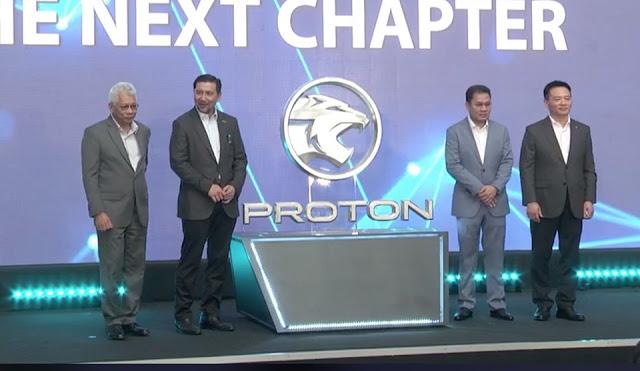 Gambar Logo Baru Kereta Proton 2019