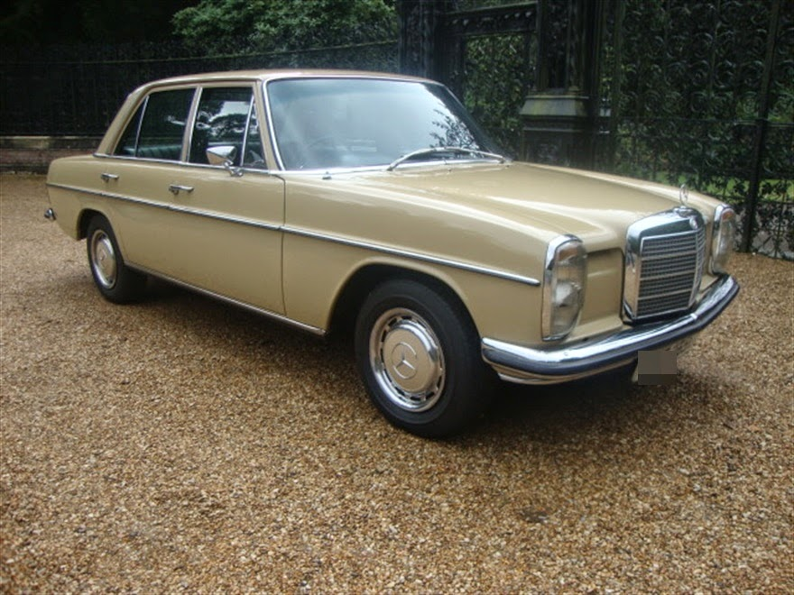 Mercedes Classic Cars: Ekim 2014
